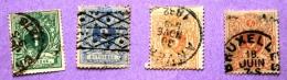 Belgique Lot De 4 Timbres 26.27.28 Y&T - Belgique