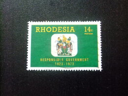 RHODESIA Del SUR RHODESIE Du SUD 1973 Escudo Yvert N 232 º FU - Rhodésie Du Sud (...-1964)