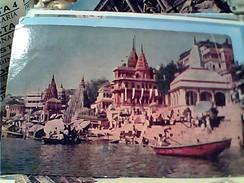 INDE INDIA UTTAR PRADESH VARANASI BANARAS BENARES Ghats Along River Gange Quais Du Gange VB19713 FV8948 - India