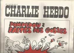 G-I-E , CHARLIE HEBDO , N° 4 , 14 Dec. 1970 , POMPIDOU : Faites Des Gosses , Nous Ferons Le Reste  , 2 Scan - Politique