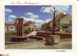 Acheres  La Rue Stalingrad - Acheres
