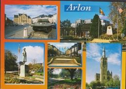 Grote Kaart Arlon Arlon Monument WWII WW2 Monuments Commémoratif - Arlon