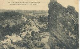 ROCHEFORT-en-TERRE - Vue Générale Prise Des Roches Noires - Rochefort En Terre