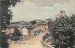 26 - DROME / Montélier - Vue Générale - Beau Cliché Colorisé - Frankrijk