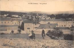 26 - DROME / Saint Uze - Vue Générale - Animée - Défaut (traces) - France
