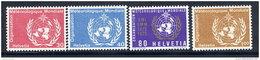 SWITZERLAND: WMO Centenary Set Of 4 MNH / **.  Michel 10-13 - Officials