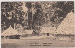 CP - CONGO - 1915 - PRéo - Village Ababua - - Belgian Congo - Other