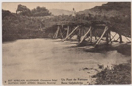 CP - CONGO - Préo - Est Africain Allemand - Un Pont De Fortune - B - Belgisch-Congo - Varia