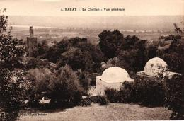 MAROC - RABAT - LA CHELLAH VUE GENERALE - Rabat
