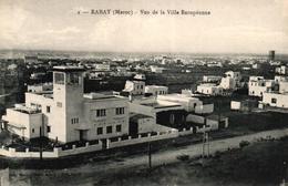 MAROC - RABAT - VUE DE LA VILLE EUROPEENNE - Rabat