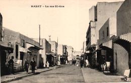 MAROC - RABAT - LA RUE EL GZA - Rabat