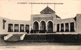 MAROC - RABAT - L'INSTITUT DES HAUTES ETUDES MAROCAINES - Rabat