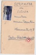 1940, Scarce 20 S. Nationalpark, Censor Cover , #6737 - Storia Postale