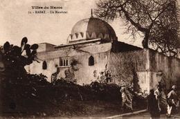 VILLES DU MAROC - RABAT - UN MARABOUT - Rabat