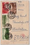1940, 4 Stamps Nationalpark, Cencor Cover, #6739 - Storia Postale