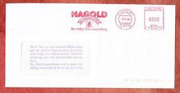 Brief, Hasler C10-1759, Beschlaege-Dauerausstellung, 80 Pfg, Nagold 1988 (45446) - Cartas