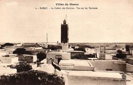 VILLES DU MAROC - RABAT - LA CASBAH DES OUDAIAS VUE SUR LES TERRASSES - Rabat