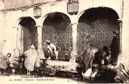 VILLES DU MAROC - RABAT - FONTAINE BOULEVARD EL ALOU - Rabat