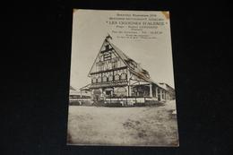 """29- Bruxelles Exposition 1935, Brasserie-Rest. Alsacien """"Les Cigognes D 'Alsace"""" - Cafés, Hotels, Restaurants"""