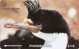 *FALKLAND ISLANDS 229CFKA* -  Scheda Usata - Falkland Islands