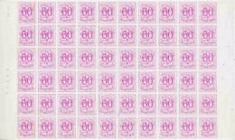 Belgie Rolzegels1966  R20 Strook Van 6 In Vel Van 60 Zegels (ongeplooid) ** Mnh (F5784) - Francobolli In Bobina
