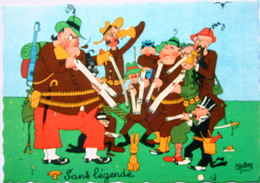 Albert Dubout Illustrateur N°14A Chasseur Chasseurs Editions Du Moulin 1957 - Stripverhalen