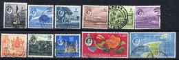 TRINIDAD & TOBAGO 1960 Definitive Part Set Of 11 Including The Top Values. Between SG 284-97 - Trinidad & Tobago (...-1961)