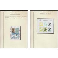 424 Nouvelle Zélande (new Zeland) Bicentenaire Révolution Francaise N°18 Oiseaux (birds) + Charcot - French Revolution