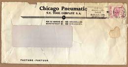 Enveloppe Brief Cover Elström Chicago Pneumatic Tool Compagny Flamme Hoeilaert - België