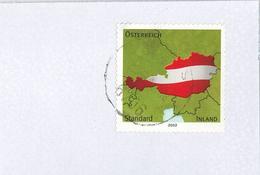 Austria Österreich Rot Weiss Rot Flagge Standard Inland Adria Fragment - 1945-.... 2. Republik