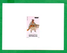 """Sénégal - Epreuve De Luxe - 1985 - Série """"Costumes Nationaux"""" - 2 - Sénégal (1960-...)"""