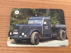 """Calendrier 1992 PORTUGAL """"Camion N°6 - KAELBLE / PRATICAR DESPORTO E TER SAUDE"""" (7x10cm) Chromo - Calendari"""