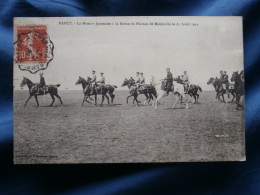 Nancy  Mission Japonaise à La Revue Du Plateau De Malzeville Le 25 Avril 1911 - Circulée 1911 - L288A - Nancy
