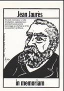 Illustrateur Jacques LARDIE (JIHEL) - Jean JAURES - In Memoriam - Autres