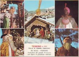 Tesero,  Grande Presepio 1966 - Monumenti