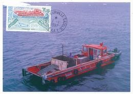 TAAF - Carte Maximum - Programme ICOTA - Dumont D´Urville Terre Adélie - 1-1-1997 - Brieven En Documenten