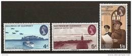 GUERNSEY 1970 - LIBERATION May 45 - 3v Mi 28-30 Cv€4,50 MNH ** Neuf D314 - Guernsey