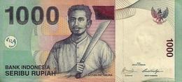 INDONESIA 1000 RUPIAH 2009 (2000) P-141j UNC  [ID597j] - Indonesia