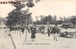 BREST PLACE DE LA LIBERTE MARCHE FOIRE 22 - Brest