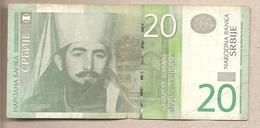 Serbia - Banconota Circolata Da 20 Dinari P-47a - 2006 - Serbia