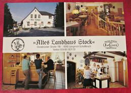 Ansichtskarte Postkarte Deutschland Altes Landhaus Stock Schollbruch Lengerich - Lengerich