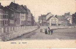 Herstal - Le Bassin (animée, AHH, 1906) - Herstal