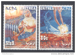 ERITREA,2011,MARTYRS´ DAY ,2v, MNH - Stamps