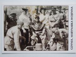 Demonstration Of Diving Equipment   / Polish Navy / Reproduction - Guerra