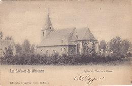 Les Environs De Wareme - Eglise St Martin à Heers (précurseur, 1902) - Heers
