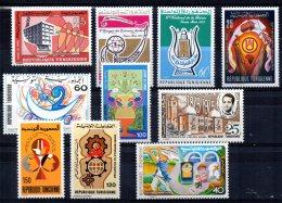 Tunisia - 1972 - 1 Set & 8 Single Stamp Issues - MNH - Tunisie (1956-...)