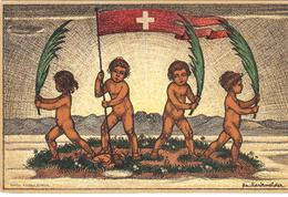 1916   CARTE FETE NATIONALE N° 15    CATALOGUE ZUMSTEIN - Suisse