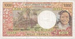 INSTITUT D'EMISSION D'OUTRE-MER - 1000 Fr - Territoires Français Du Pacifique (1992-...)