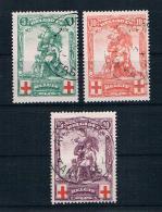 Belgien 1914 Rotes Kreuz Mi.Nr. 104/06 Kpl. Satz Gest. - 1914-1915 Rotes Kreuz