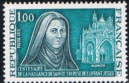 FRANCE : N° 1737 ** (Sainte Thérèse De L'Enfant-Jésus) - PRIX FIXE - - Neufs